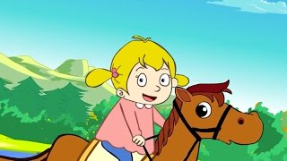 Elle descend de la montagne à cheval thumbnail