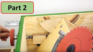 Building my Table Saw Part 2: Trunnion Blade Tilt Mechanism