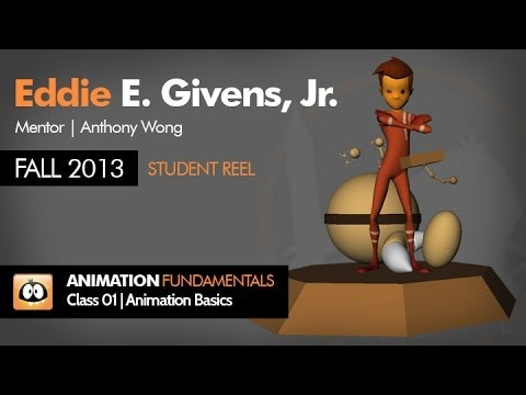 My Student Progress Reel Fall 2013 | Animation Mentor | Class 01: Animation Basics