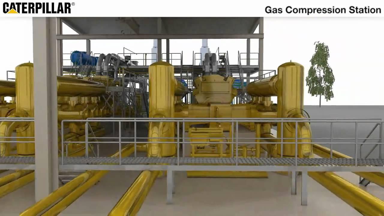 Caterpillar Gcm34 Gas Compressor