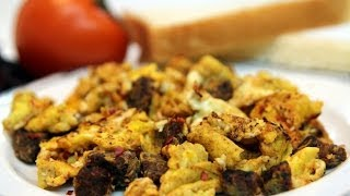 Scrambled Eggs with Chorizo - Mexican Recipe - CookingWithAlia - Episode 300