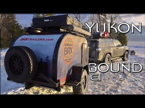 Yukon Bound - Alaska Highway Overlanding Adventure - E.1 - Out Of Gas \u0026 Flat Tire