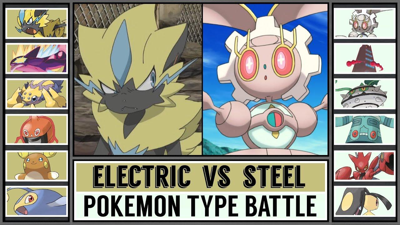 Pokémon Type Battle: ELECTRIC vs STEEL