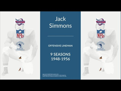 Jack Simmons: Football Offensive Lineman