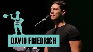David Friedrich – Den Slam kenne ich schon