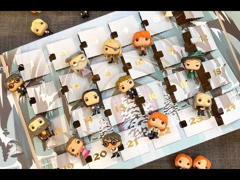 Распаковка Адвент Календаря Фанко ПОП по Гарри Поттеру. Unpacking Advent Calendar Harry Potter Funko