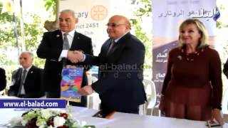بالفيديو .. رئيس حدائق الحيوان يوقع بروتوكول تعاون مع 'روتاري الجيزة'