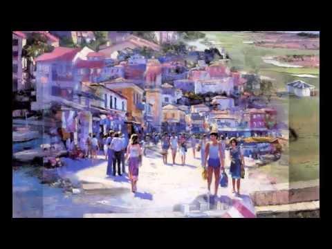 Раскраска по номерам Hobbart «Прогулка по Венеции»