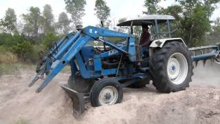 รถไถโหด Tractor Ford 6600 Turbo By. Lek Modify