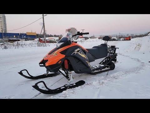 Мини обзор снегохода Stels Капитан S150