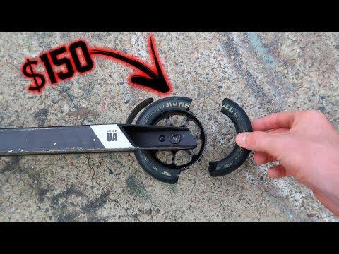 BRAND NEW $150 SCOOTER WHEELS BROKEN!