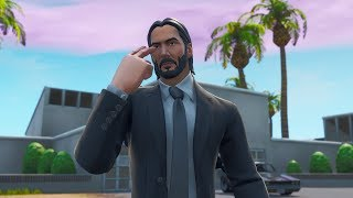 JOHN WICK'S NEW LEGENDARY SKIN WITH CUSTOMIZABLE STYLE! Fortnite