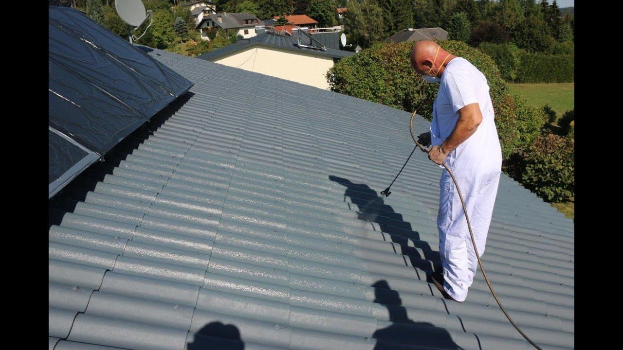 Berühmt Dachbeschichtung ThermoShield - YouTube RZ31