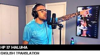Hp By Maluma English Translation