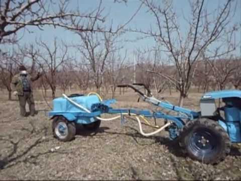 Bcs 705 avand in dotare pompa bertolini 36 s youtube for Pompa per motocoltivatore