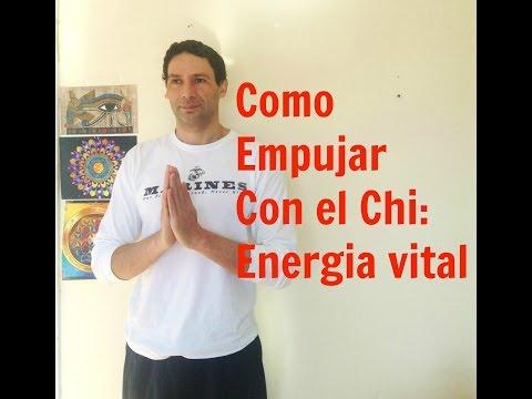 Como Empujar a alguien Con el  Chi: Energia vital
