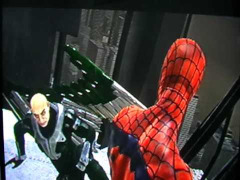 Spider-Man Web of Shadows Spidey vs Symbiote Vulture (Bad ...