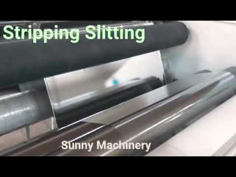 The Machine For Transfer Stripping Production - Sunny Machinery Factory
