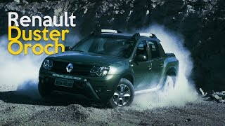 Renault Duster Oroch - Teste Webmotors