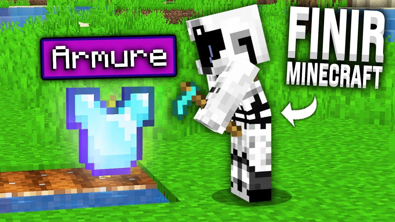 Finir Minecraft mais je peux TOUT faire POUSSER !