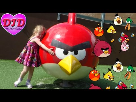 Angry Birds Activity Park Gran Canaria DJD kids Presents Angry Birds : Summer Pignic