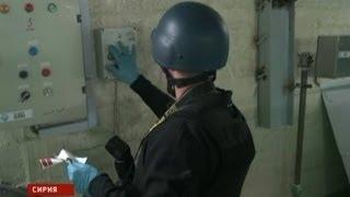 Первые кадры уничтожения химического оружия в Сирии!