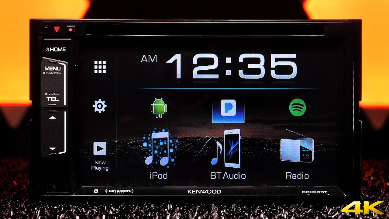 kenwood ddx25bt double din stereo bluetooth spotify and pandora [ 1280 x 720 Pixel ]