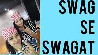 SWAG SE SWAGAT/ SALMAN KHAN/ TIGER ZINDA HAI/ KATRINA/ RITU'S DANCE STUDIO SURAT.