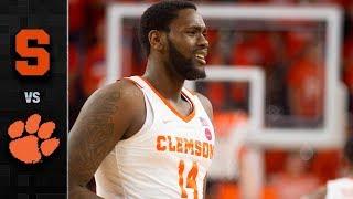 Syracuse vs. Clemson Basketball Highlights (2018-19)