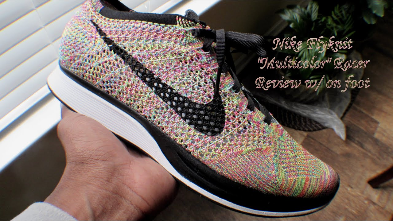 d6de49aac5b1c ... discount code for 2016 nike flyknit racer multicolor 3.0 youtube 93182  7f0e5 ...