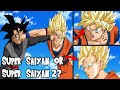 Was Goku REALLY Super Saiyan 2 Against Black In Dragon Ball Super?