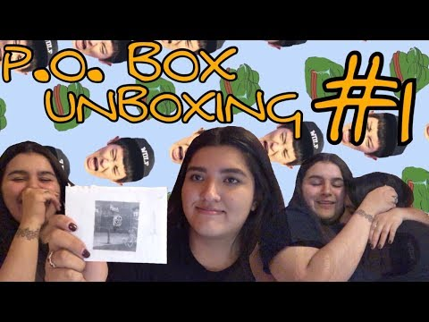 UNBOXING OUR P.O. BOX!! ❣️ | KMREACTS