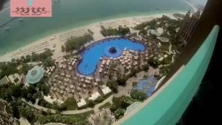 Journalist captures visits of Atlantis on Palm Jumeirah Dubai