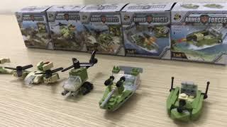 Combo 5 bộ lego Quân sự 1