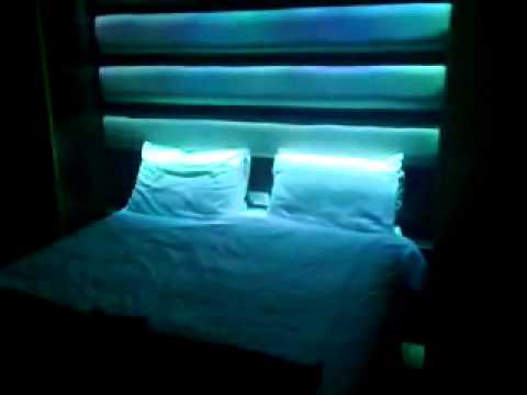My Light Show Bedroom - YouTube