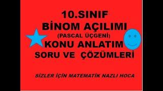 2018-2019 10.SINIF MATEMATİK BİNOM AÇILIMI
