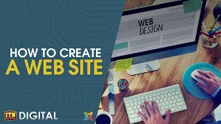 How to Create a Web Site - ITN Digital with LK Domain Registry Thumbnail