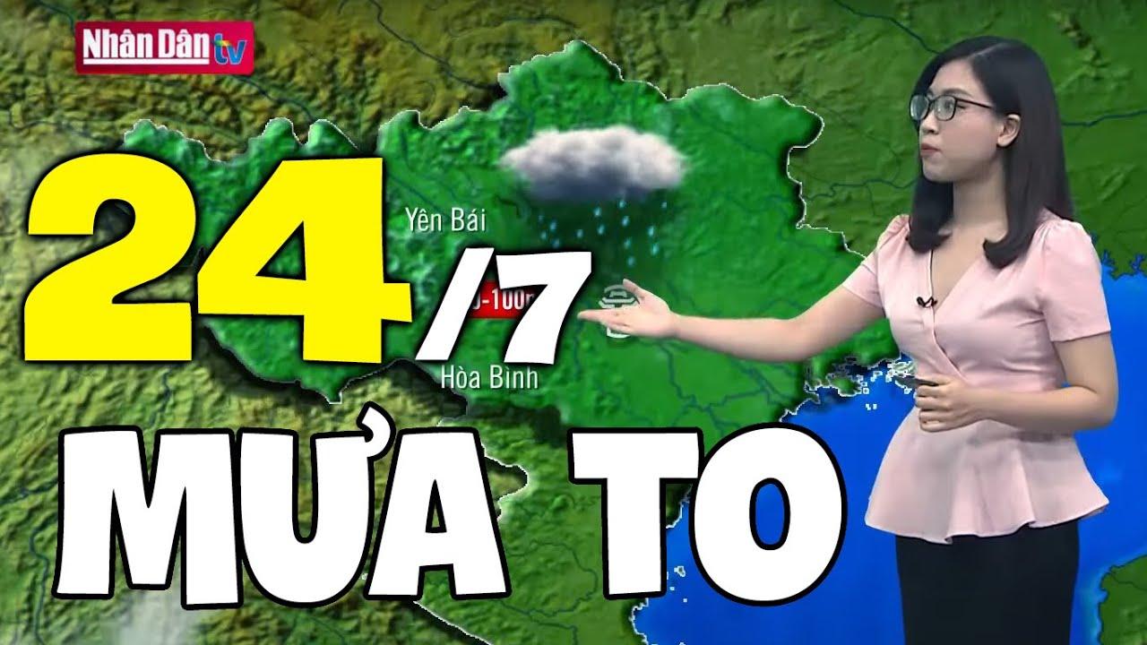 Download Dự báo thời tiết hôm nay và ngày mai 24/7 | Dự báo thời tiết đêm nay mới nhất
