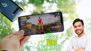 ASUS ROG 3 144hz PUBG Gameplay - Highest Setting on Any Phone (Gaming Review)