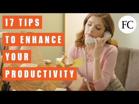 Productivity Tips from the Busiest People