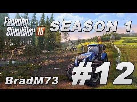 Farming Simulator 15 - Season 1 - Episode 12 - I buy a Telehandler!!