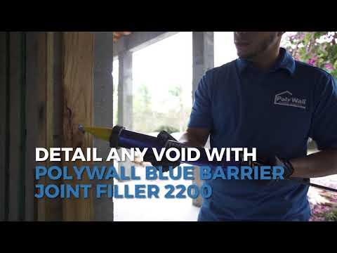 Poly Wall Blue Barrier Liquid Flashing 2100