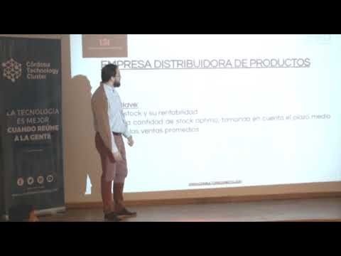 Conferencia de Gastón Roldán en el Business Hub Córdoba, Argentina.