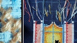 КАК закреплять нитки при вышивке, не переворачивая раму.(Спасибо за подписку! вышивка по набору Dimensions 13666 аида 18, синяя размер работы - 20х43 см Я Вконтакте - http://vk.com/massa..., 2014-02-22T19:58:56.000Z)