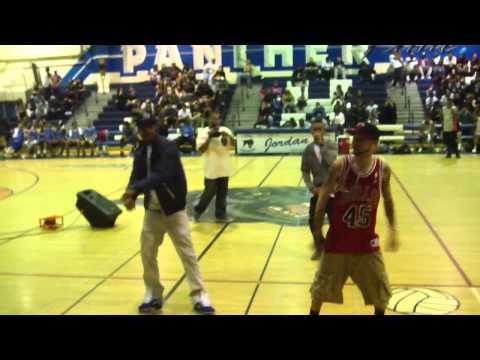 CALi SWAG DiSTRiCT/ Rip M-Bone @ Long beach Jordan High school :)