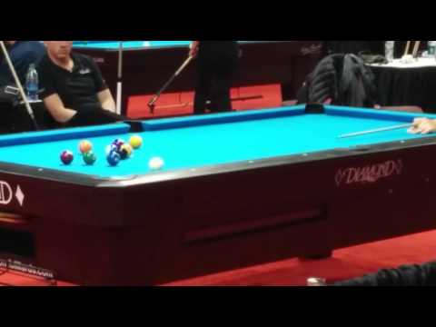 Corey Deuel controversial 10 Ball break at the Super Billiards Expo