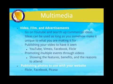 WEBINAR: 2012-12-20 Effective Marketing/Publicity Strategies and Tactics