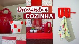 Ideias FÁCEIS e BARATAS de decoração para a cozinha