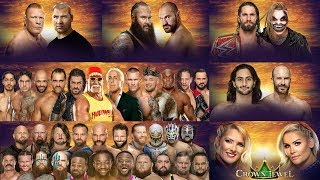 WWE Live Predictions (Greek) - Crown Jewel 2019 (PART 2)