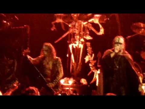 "Watain w/Eric and Attila ""beyond"" Tormentor cover live In philly"